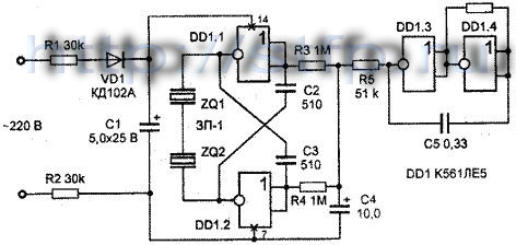 принципиальная схема кондуктометра